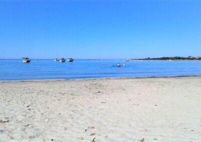 La sabbia candida della spiaggia di Putzu-Idu